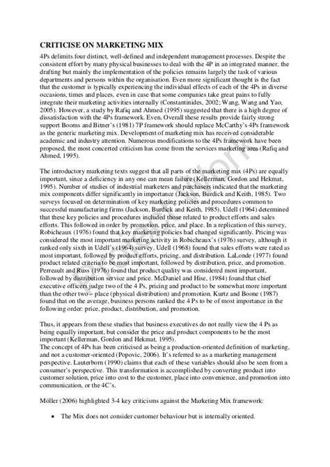 marketing mix research paper writing my research paper marketing mix and promotional
