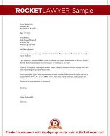 Sample Certification Letter For Medical Records Medical Records Request Form Request For Medical Records