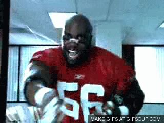 Terry Tate Office Linebacker Coffee by Nfl Forum Best Superbowl Commercial
