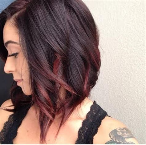 ombre highlights for short bob red ombre hair beauty pinterest my hair bobs and
