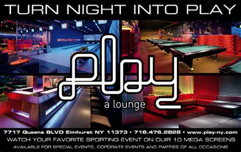 thursday is ladies night play lounge