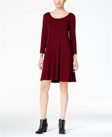 Style Co Dress lyst style co swing dress only at macy s in