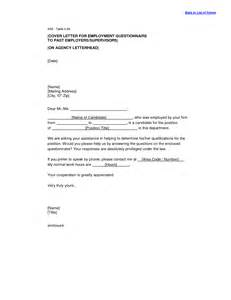 cover letter agency sle cover letter to employment agency guamreview