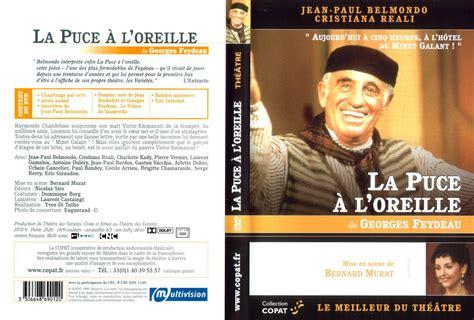 jaquette dvd de au theatre la puce a l oreille v2