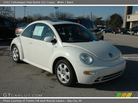 2002 Volkswagen New Beetle Gls by White 2002 Volkswagen New Beetle Gls Coupe Black
