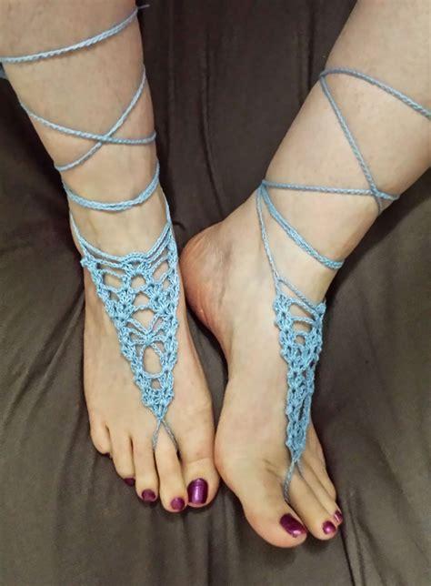 barefoot sandals crochet 31 free crochet barefoot sandal patterns guide patterns