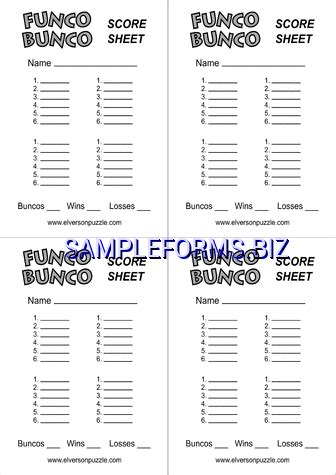 bunco score sheets template bunco score sheets templates sles forms