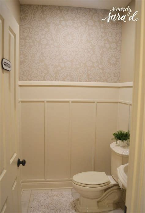 bathroom wall treatments bathroom wall paneling sincerely sara d