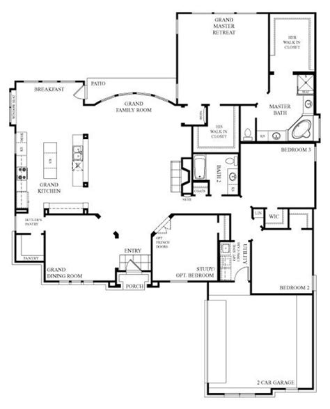 simple open floor house plans 316 best images about dream home floor plans on pinterest