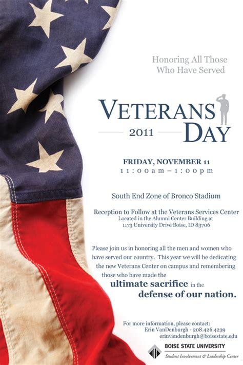 2011 veterans day invitation veteran services