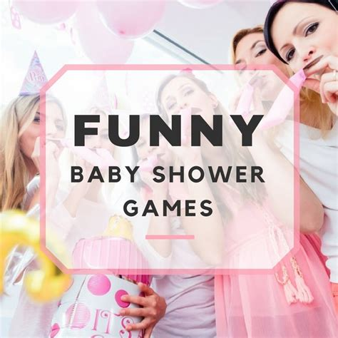 top  funny baby shower games pinkduckycom