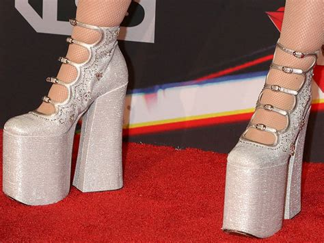 Platform Noah noah cyrus in see through dress and marc platform pumps