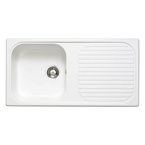 white quartz kitchen sink astracast msk 1 0 bowl composite quartz white inset sink