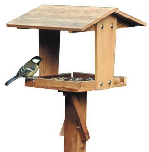 make a bird table