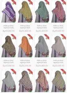 Kaos Spandex Neci jilbab rumah jahit haifa