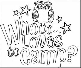 Cool camping coloring page free printable for 46683 thecoloringpage