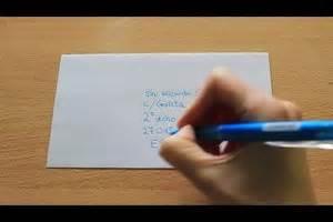 spanische adressen schreiben