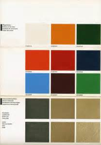 Porsche 911 Colors By Year 70 Color Chart Pelican Parts Technical Bbs