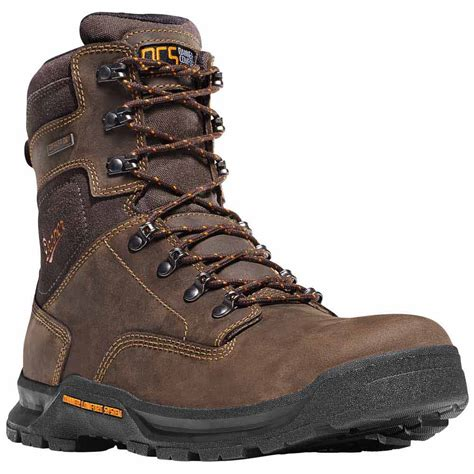 danner work boots danner crafter 8 in brown safety toe waterproof work boot