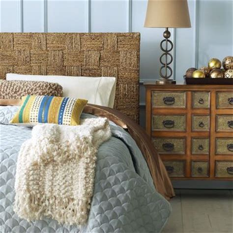 pier one seagrass headboard woven block seagrass headboard guest rooms guest