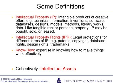 nanotechnology intellectual property rights research design and commercialization perspectives in nanotechnology books intellectual property 101 of new hshire