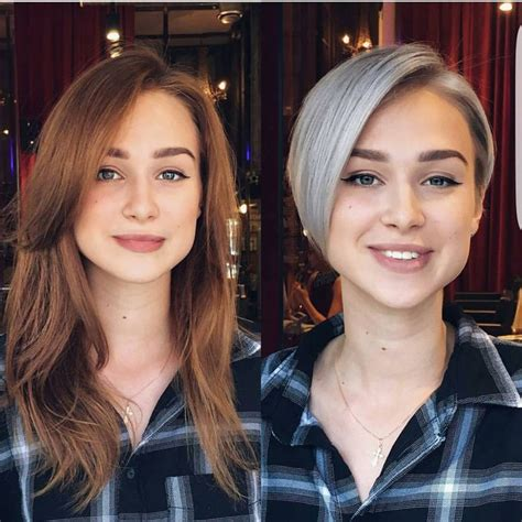 hair makeovers for women 19 best pixie cut images on pinterest