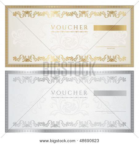 money gift certificate template gift voucher certificate coupon template banknote