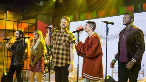 pentatonix perform merry christmas happy holidays