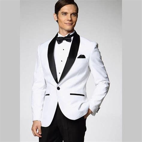 Best 25  White tuxedo wedding ideas on Pinterest   White