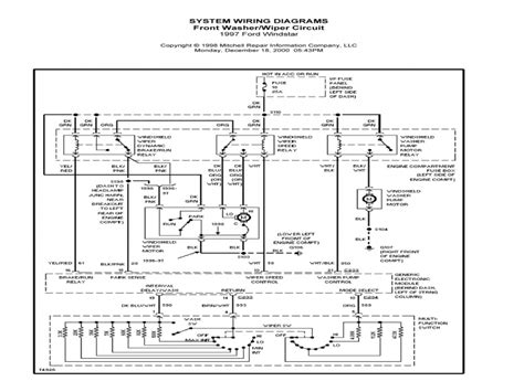 1995 ford windstar engine diagram wiring diagrams wiring