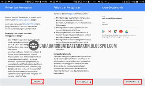 cara membuat akun google di samsung galaxy v buat akun google baru lewat hp android samsung galaxy