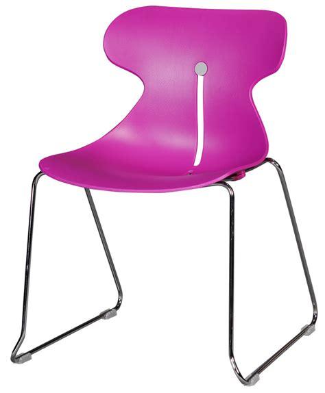 chaise coque plastique chaise coque plastique fushia pi 233 tement m 233 tallique chrom 233