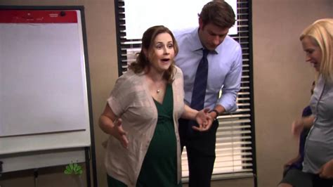 hot office pregnancy the office us s08e08 pregnant belly youtube