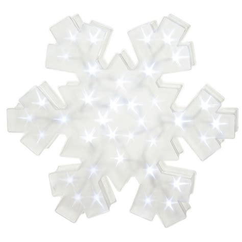 lighted large led snowflake