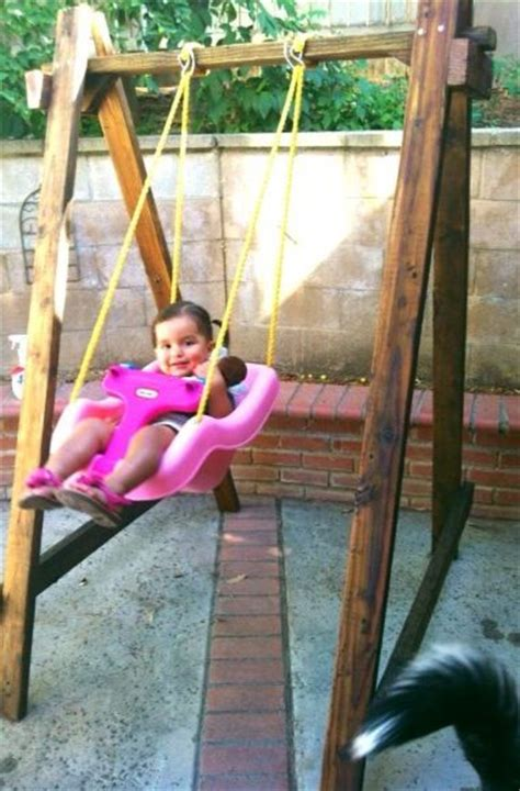 when can a baby use a swing 25 best ideas about outdoor baby swing on pinterest