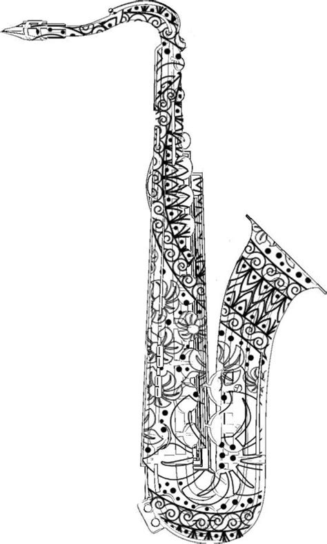 coloring coloring books and saxophone on pinterest