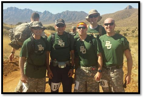 Us Army Baylor Mha Mba by Five Army Baylor Mha Students Competed In The 26th Annual