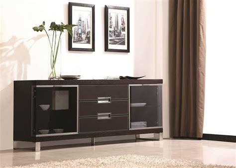 Dining Room Buffet Cabinet by Dining Room Buffet Cabinet Black With Brown Line Accents