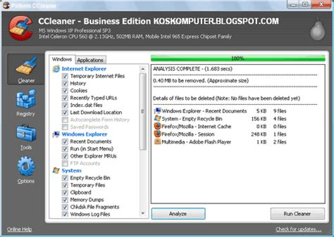 ccleaner quiet install ccleaner business edition 3 18 1707 silent installation