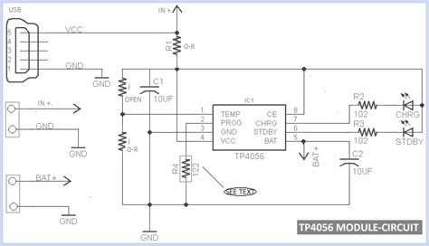 lipo battery charger circuit diagram tp4056 lipo battery charger for rc toys
