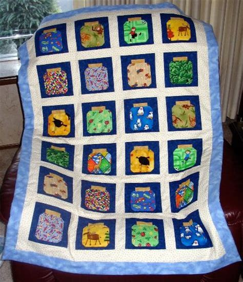 Jar Quilt Pattern by Bug Jar Quilts Quilting