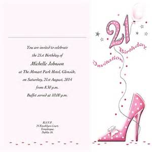 occasion card 21 4w 21st birthday wedding invitations