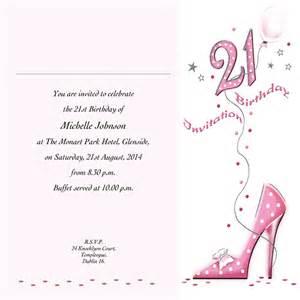 Occasion Card 21 4w 21st Birthday Wedding Invitations
