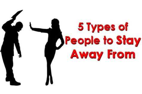 10 Types Of To Stay Away From by 5 Types Of To Stay Away From Womenworking
