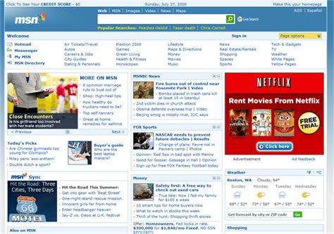 www msn com here comes msn com v11 new look hotmail integration