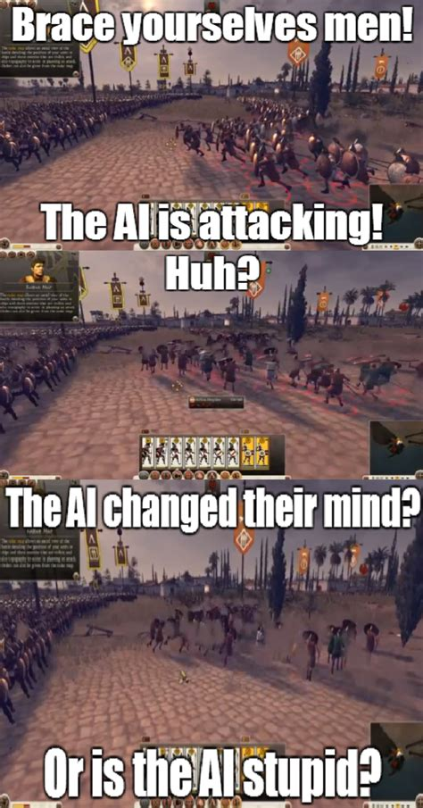 Ai Meme - rome 2 ai video game logic know your meme