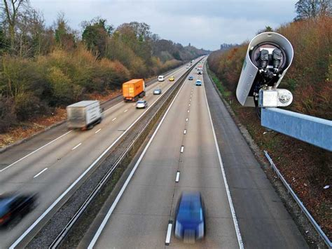 the motorpany motorway cameras to issue speeding fines on smart