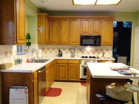 oak kitchen cabinet makeover oak cabinet paint to makeover kitchen house ideas
