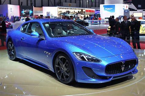 blue maserati granturismo fashion cars 2012 maserati granturismo car