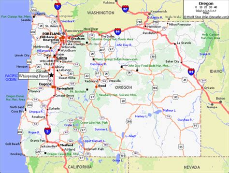 map of interstate 5 through oregon interstate 5 in oregon